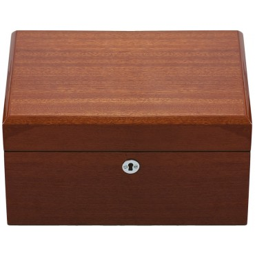 GT2101   Mahogany Jewellery Box with Lift out Trays Ari D Norman