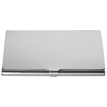 GT343   Plain Card Case Sterling Silver Ari D Norman