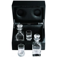 GT2230   VIP Drinks Set Housed in a Maple Leaf Wood Cabinet Ari D Norman