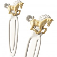 JGT27   Galloping Horse Bookmark Jewelari of London