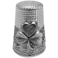 GT422   Shamrock Thimble Sterling Silver Ari D Norman