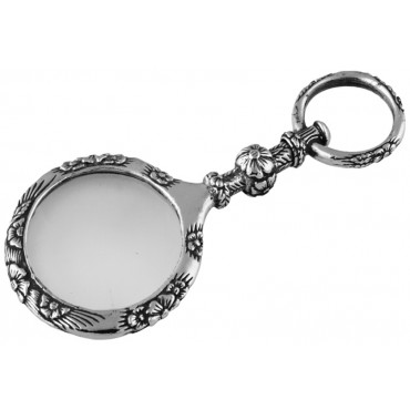 GT798   Unique Magnifying Glass Pendant Sterling Silver Ari D Norman