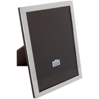 FR135  Solid Sterling Silver Classic Collection Photo Frame made in UK Photo size  25cm x 20cm or 10 inch x 8 inch
