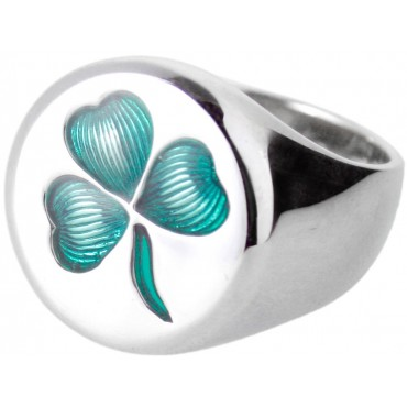 RG305   Shamrock Ring Sterling Silver Ari D Norman