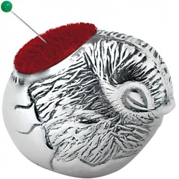 GT403   Small Bird Pin Cushion Sterling Silver Ari D Norman