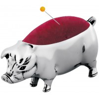 GT438   Sterling Silver Pig Pin Cushion Ari D Norman