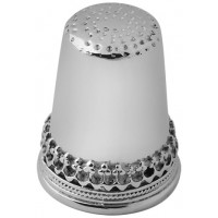 GT465   Plain and Patterned Thimble Sterling Silver Ari D Norman