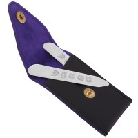 GT636   Collar Stiffeners with Case Sterling Silver Ari D Norman